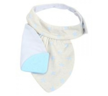 Koo-di Teething Bib - Blue