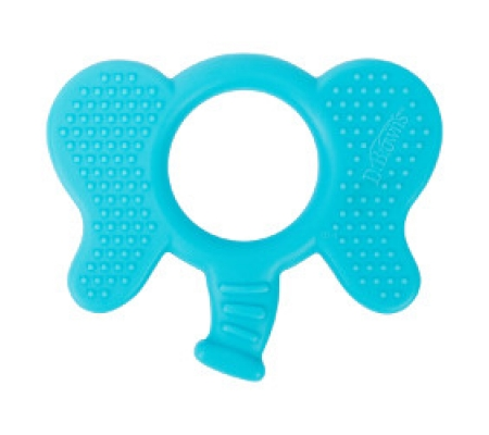 Dr. Brown's Flexees  Friends Teether - Elephant Blue