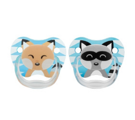 Dr. Brown's PreVent Printed Shield Pacifier Blue 0-6M 2Pk