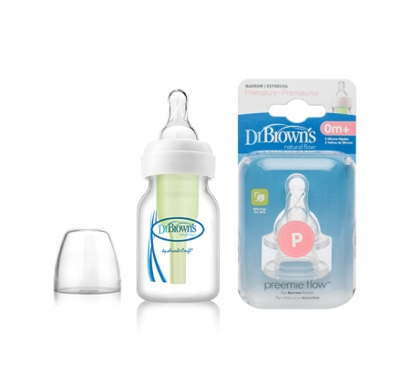 Dr Brown's Options Preemie Bottle Set 60ml