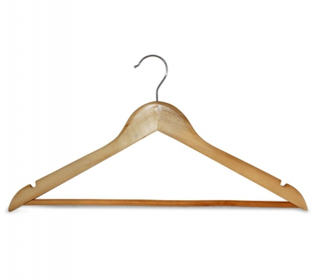 Sirocco Natural Wooden Hangers (set of 8)