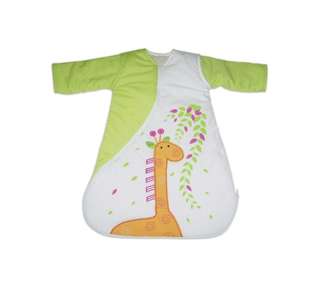 PurFlo Travel Giraffe Sleepsac 1 Tog 3-9m - Green