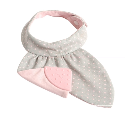 Koo-di Teething Bib - Pink