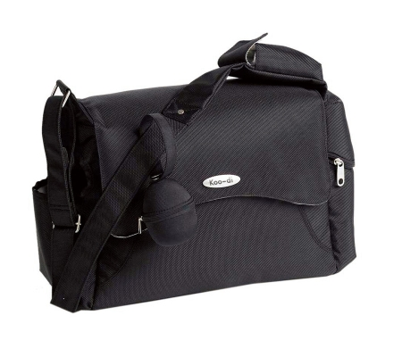 Koo-di Messenger Changing Bag - Black