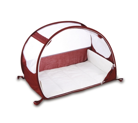 Koo-di Pop-up Travel Bubble Cot - Aubergine