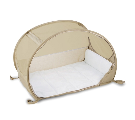 Koo-di Pop-up Travel Bubble Cot - Cafe Creme