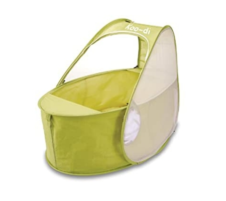 Koo-di Pop-Up Travel Bassinette -  Lime