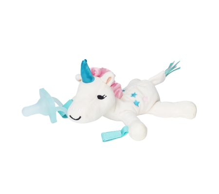 Dr Brown's Unicorn Lovey w/ Aqua One - Piece Pacifier