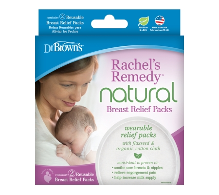 Dr Brown's Rachel's Remedy Breast Relieft Packs - 2 - Pack