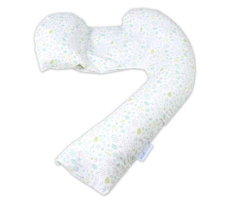 Dreamgenii Pregnancy Pillow - Green Nature