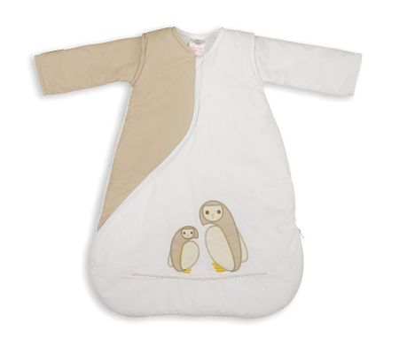 PurFlo  Owl Sleepsac 1 Tog 3-9m -  Natural