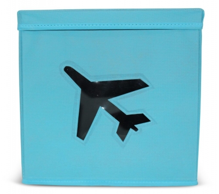 Sirocco Blue Storage Box with Lid