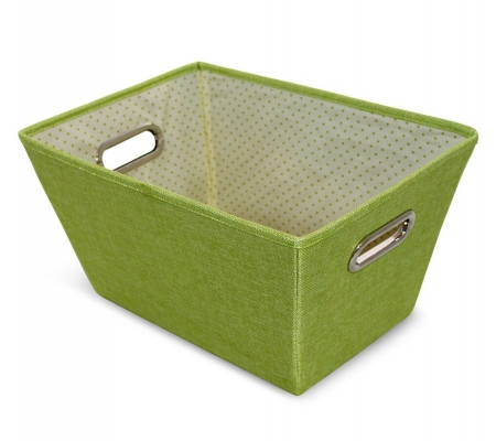Sirocco Green Weave Storage Tote -  Small