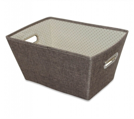 Sirocco Brown Weave Storage Tote -  Small