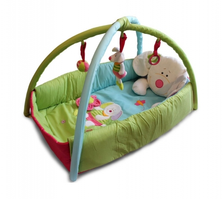 Ibb Bear Padded Play Mat