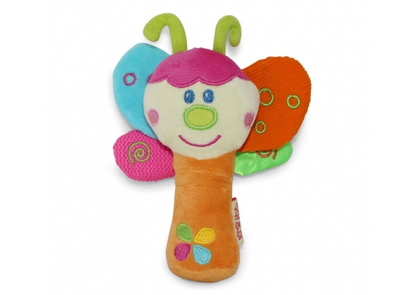 Ibb Butterfly Rattle Toy