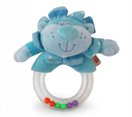 Ibb Blue Lion Rattle